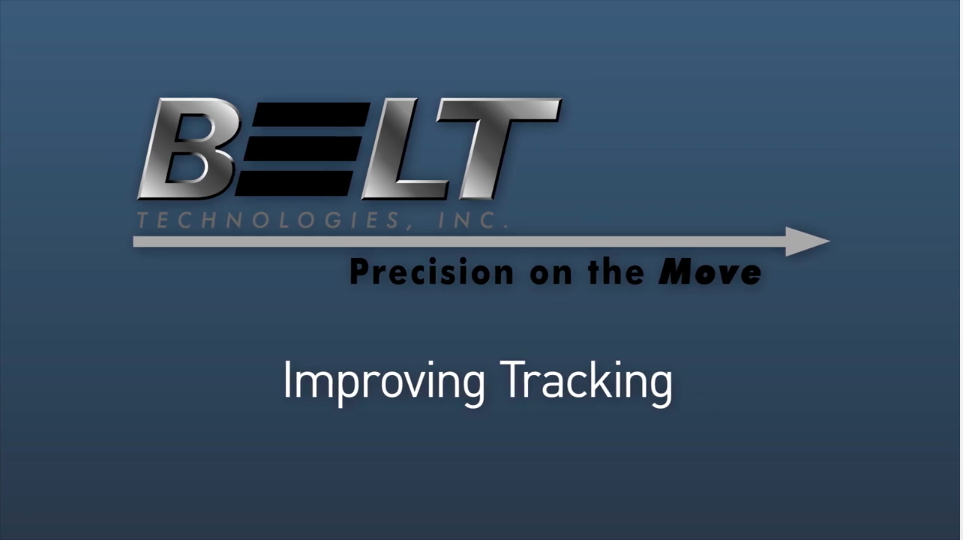 Video Tutorial: Belt Tracking Solutions