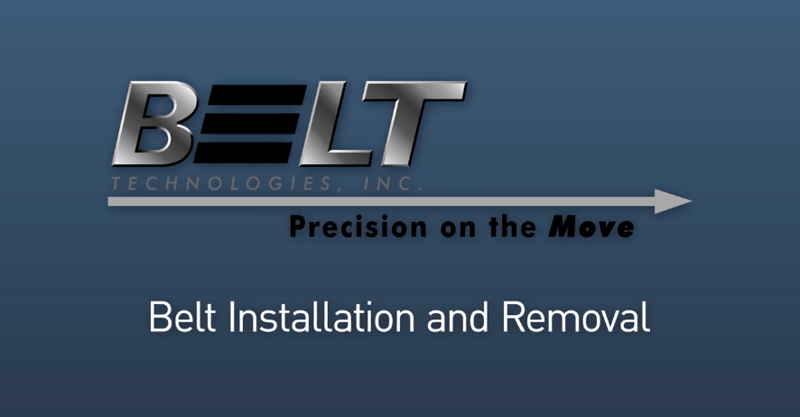 Video Tutorial: Metal Belt Installation and Removal